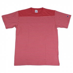 Campion border S/S Tee【S.PNK】