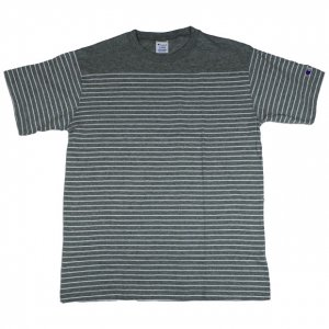 Campion border S/S Tee【GRY】