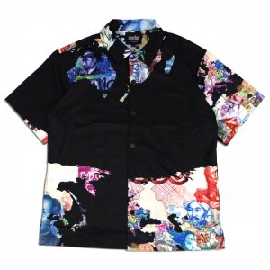 <img class='new_mark_img1' src='//img.shop-pro.jp/img/new/icons14.gif' style='border:none;display:inline;margin:0px;padding:0px;width:auto;' />EYEDY paper SHIRT【BLK】