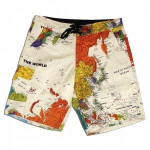 EYEDY paper surf PANTS【WHT】