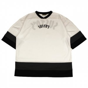<img class='new_mark_img1' src='//img.shop-pro.jp/img/new/icons14.gif' style='border:none;display:inline;margin:0px;padding:0px;width:auto;' />SUSTOS MIC hockey SHIRT【WHT】