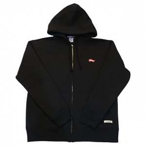 OVERPREAD flag ZIP PARKA[BLK]