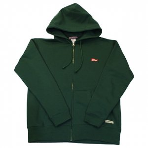 OVERPREAD flag ZIP PARKA[GRN]