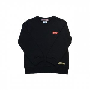 [Kid's]OVERPREAD flag C.Sweat[Blk]