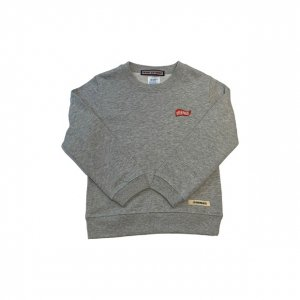 [Kid's]OVERPREAD flag C.Sweat[Gry]