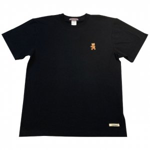 OVERPREAD bear tee[blk]