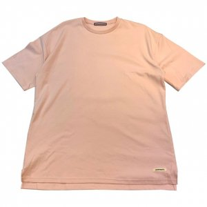 OVERPREAD side zip tee[pnk]