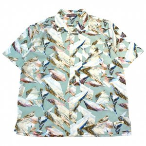OVERPREAD handle shirt[l.blu]