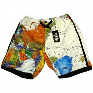 eyed paper boa short pants[wht]