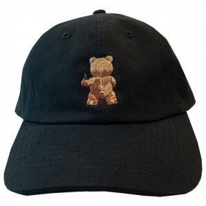 OVERPREAD bear CAP【blk】