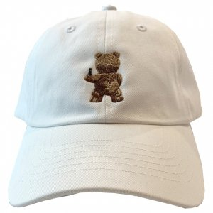 OVERPREAD bear CAP【wht】