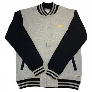 OVERPREAD sweat stadium jkt[gry]
