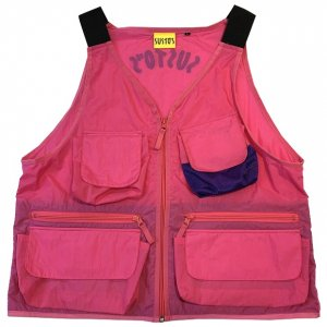 <img class='new_mark_img1' src='//img.shop-pro.jp/img/new/icons14.gif' style='border:none;display:inline;margin:0px;padding:0px;width:auto;' />SUSTOS nylon vest[pnk]