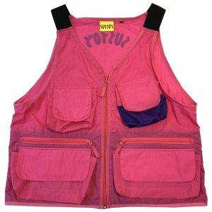 SUSTOS nylon vest[pnk]