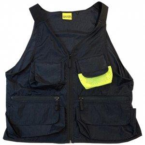 SUSTOS nylon vest[blk]