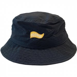 OVERPREAD nylon bucket hat[blk]