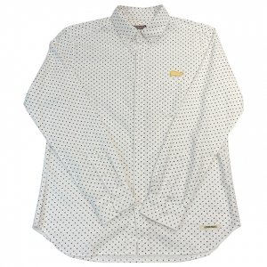 OVERPREAD dot shirt[wht]