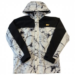OVERPREAD stretch mountain jkt[wht/bk]