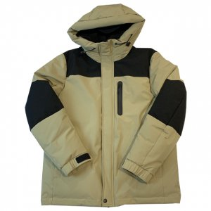 OVERPREAD stretch hood jkt[bei]