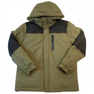 OVERPREAD stretch hood jkt[oli]