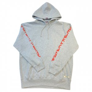 MIZYURO x OVERPREAD hood sweat[gry]
