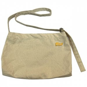 OVERPREAD canvas musette bag