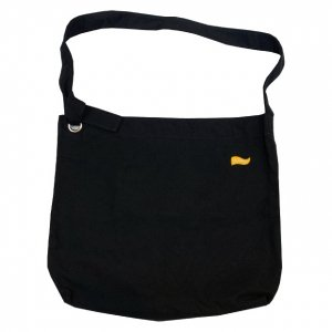 OVERPREAD kraftring shoulder bag[blk]