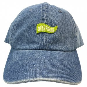 OVERPREAD flag denim cap[l.blu]