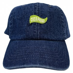 OVERPREAD flag denim cap[d.blu]