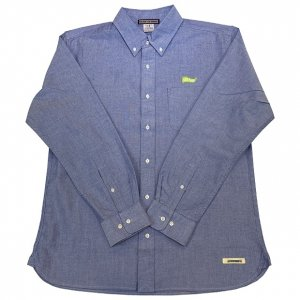 OVERPREAD oxford SHIRTS[blu]