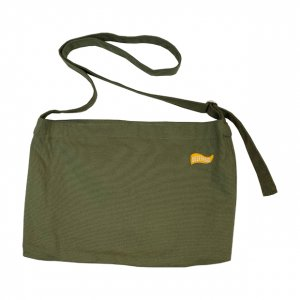OVERPREAD canvas musette bag[oli]