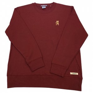OVERPREAD bear crew sweat[bur]