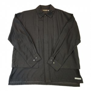 <img class='new_mark_img1' src='https://img.shop-pro.jp/img/new/icons14.gif' style='border:none;display:inline;margin:0px;padding:0px;width:auto;' />OVERPREAD dress shirts[blk]