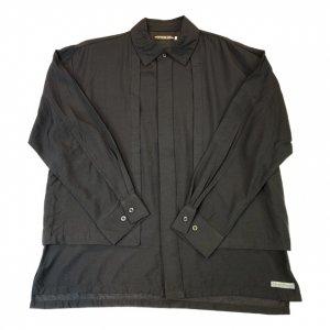 OVERPREAD dress shirts[blk]