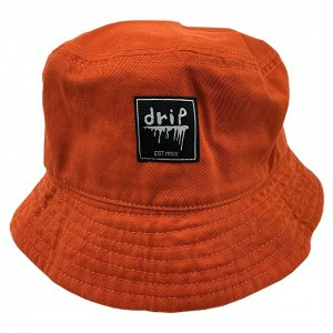 <img class='new_mark_img1' src='https://img.shop-pro.jp/img/new/icons14.gif' style='border:none;display:inline;margin:0px;padding:0px;width:auto;' />OVERPREAD drip bucket hat[org]