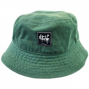 OVERPREAD drip bucket hat[d.grn]