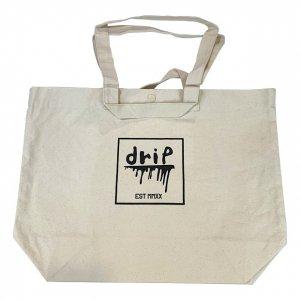 OVERPREAD drip canvas 2way tote bag[bei]