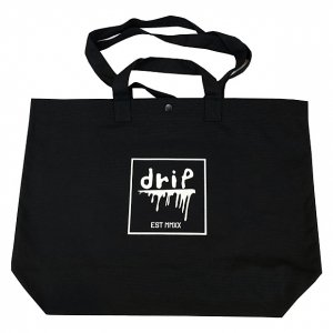 <img class='new_mark_img1' src='https://img.shop-pro.jp/img/new/icons14.gif' style='border:none;display:inline;margin:0px;padding:0px;width:auto;' />OVERPREAD drip canvas 2way tote bag[blk]