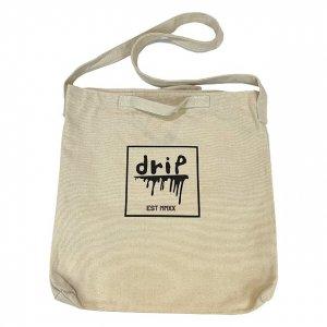 OVERPREAD drip canvas 2way shoulder bag[bei]
