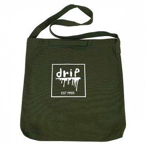 OVERPREAD drip canvas 2way shoulder bag[oli]