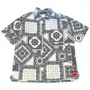 OVERPREAD bandana shirts[wht]