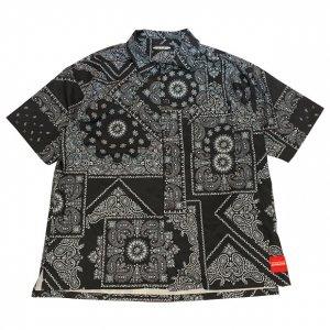 OVERPREAD bandana shirts[blk]