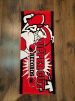 UPPER CUT RECORDS TOWEL[RED]
