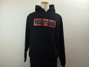 MARUYAMA.MADE 円山煙BOXLOGO HOOD SWEAT