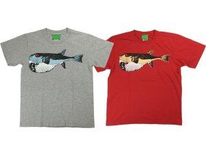 SUSTOS 'FLIP フグ' T-shirt