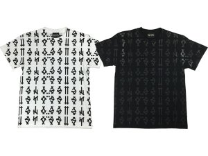 SUSTOS 'MIC' patterned S/S Tee