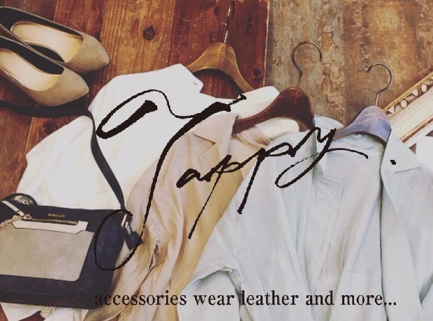 Wear Accessoies Leather and more・・・from TAPPY