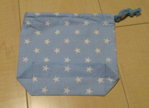 コップ袋にも使える小さい片引き巾着【...