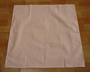 ピンク薄地小さいドット柄ナフキン・ランチマット45×45