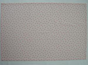 給食用ランチョンマット60×40【薄いピンクにさくらんぼ(チェリー)柄】